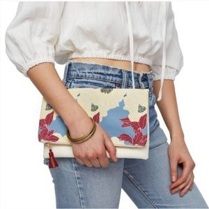 Rachel Pally Floral Reversible Clutch